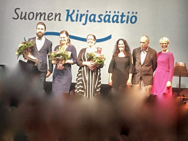 Kahden bloggarin kokemuksia Finlandia-jakotilaisuudesta